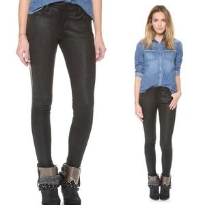 Joe's Jeans Leather Tux Ankle Pants